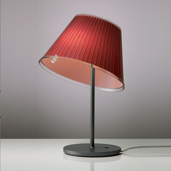 Artemide - Choose Table Light Fluorescent Red