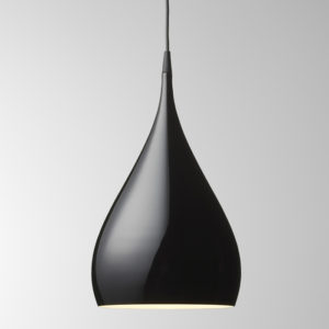 &Tradition - Black Spinning Pendant Light BH1