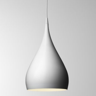 &Tradition - White Spinning Pendant Light BH1