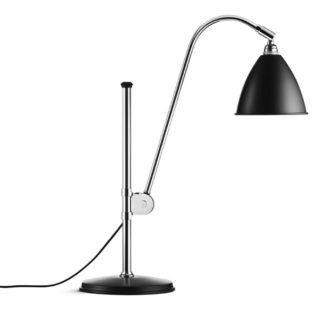 Bestlite BL1 Matt Black w Chrome Table Light