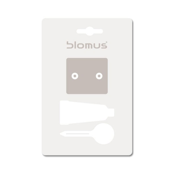 Blomus - Wall Mounting Kit for Sento Soap Dis, Toilet Roll and Brush ONLY