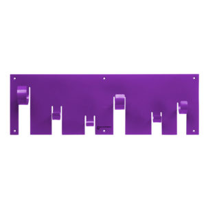 Born in Sweden - Coat Rack - Purple