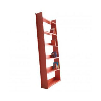 Danese Milano - Gran Livorno Wall Mounted Inclined Bookcase Red