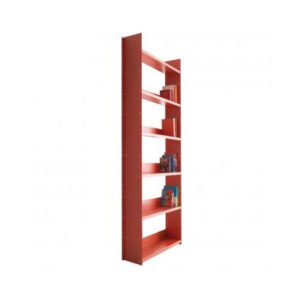 Danese Milano - Gran Livorno Wall Mounted Bookcase Red
