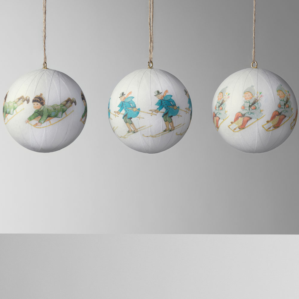 Design House Stockholm - Elsa Beskow Christmas Tree Ornaments Set 1 3pcs Set