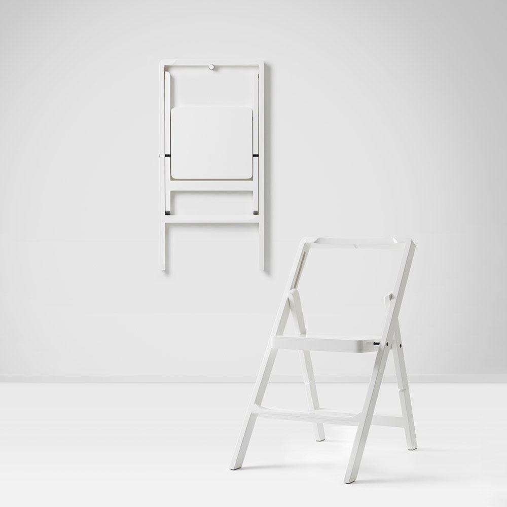 Design House Stockholm - Step Mini Folding Chair Step Ladder White