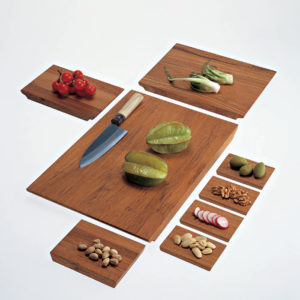 Driade Kosmo - Cut In Half Chopping Board Set