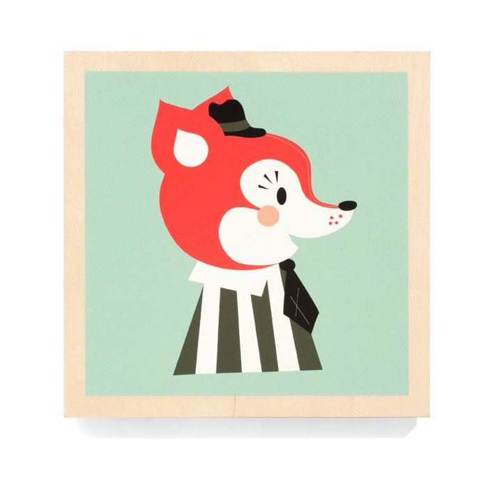 Ferm Living Kids - Mr Frank Fox Picture