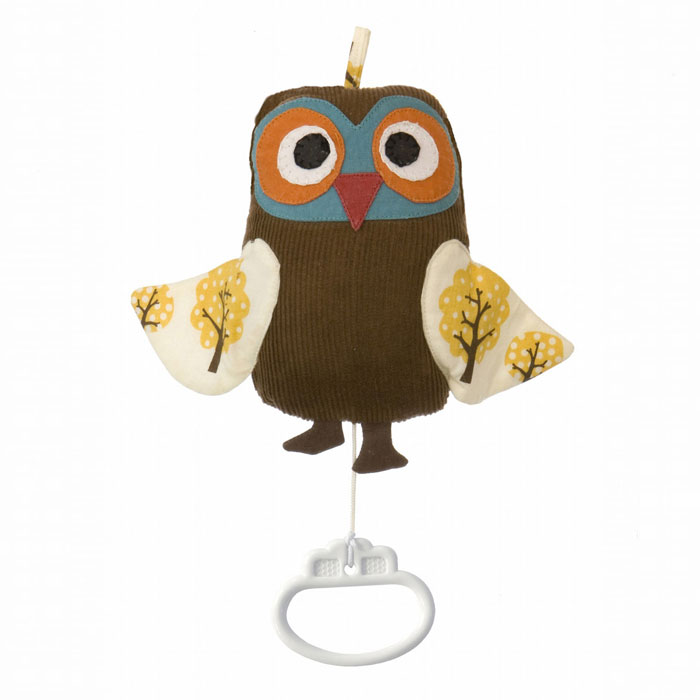 Ferm Living Kids - Owl Music Mobile