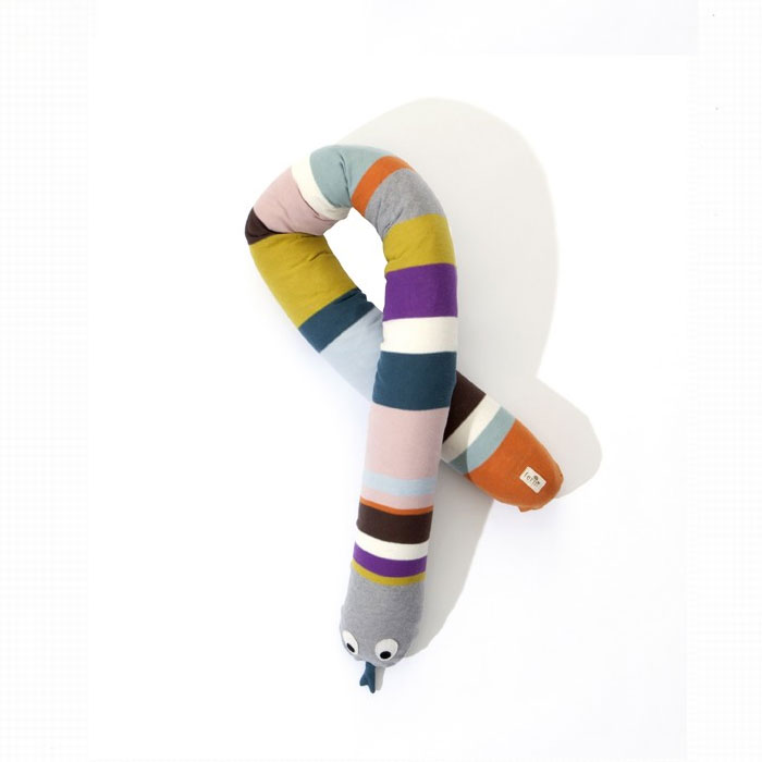 Ferm Living Kids - Mr Snake Cushion