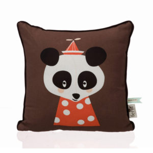 Ferm Living Kids - Posey Panda Cushion