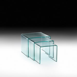 Fiam - Rialto Tris 3pcs Set of Tables