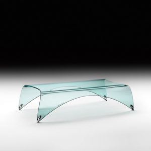 Fiam - Genio Coffee Table 10mm Thick Glass