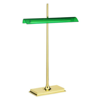 Flos - Goldman LED Table Light Brass Green