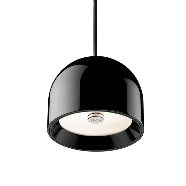 flos johanna grawunder wan suspension light black panik design. Black Bedroom Furniture Sets. Home Design Ideas