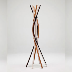 Horm - Twist Coat Stand Tricolour