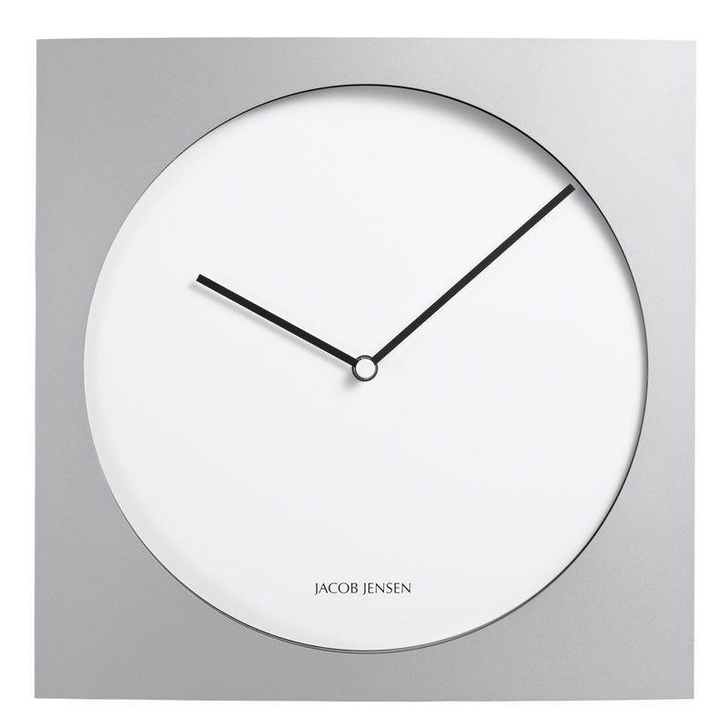 jacob jensen wall clock 319 panik design. Black Bedroom Furniture Sets. Home Design Ideas
