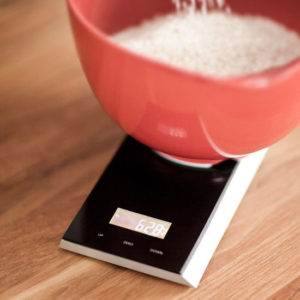 Jacob Jensen - Timescale Kitchen Scales Black