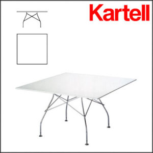 Kartell - Antonio Citterio - Square Glossy Table