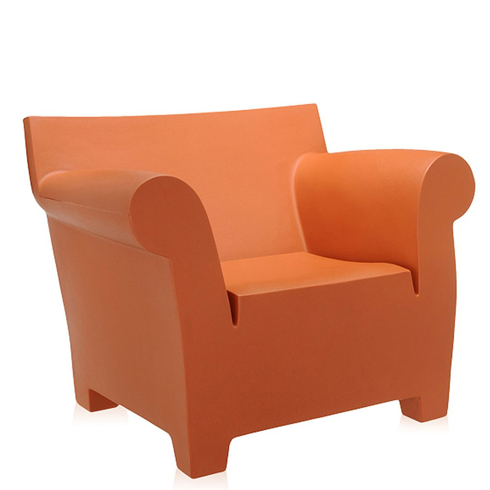 Kartell   Philippe Starck   Bubble Club Armchair Ochre