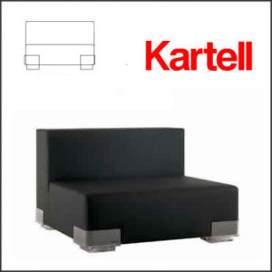 Kartell - Piero Lissoni - Plastics Chair 6092