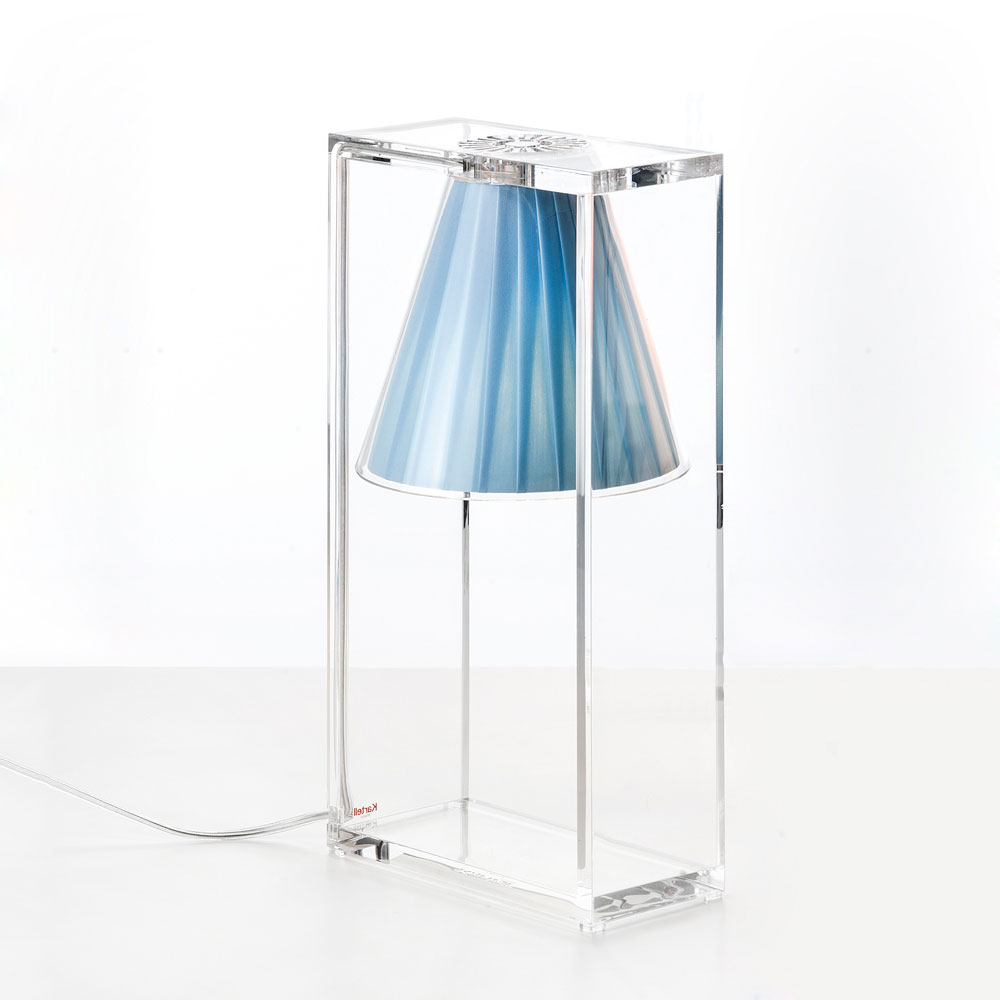 Kartell - Light Air Table Light Sky Blue | Panik Design