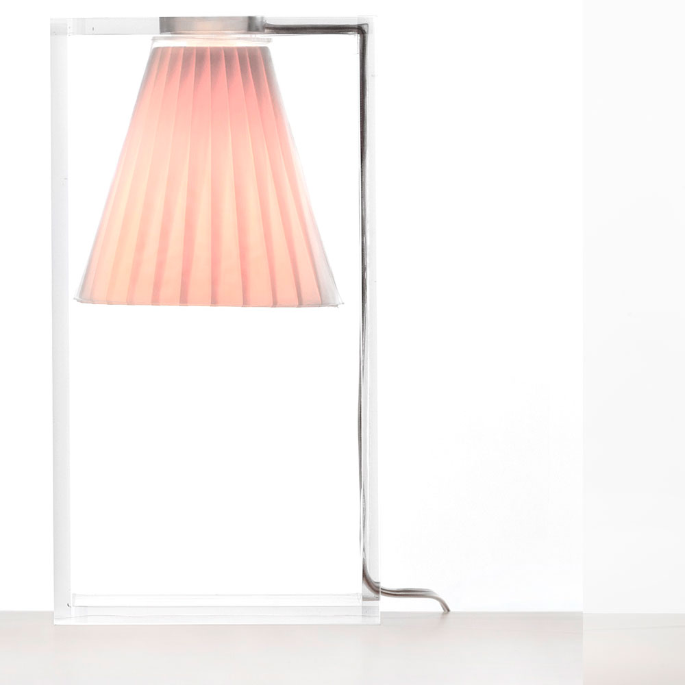 Kartell - Light Air Table Light Pink | Panik Design