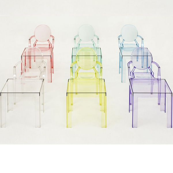 Kartell philippe starck lou lou ghost kids chair for Philippe starck style