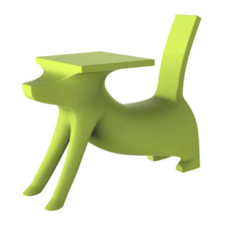 Magis - Philippe Starck - Le Chien Savant Childrens Chair Desk Green