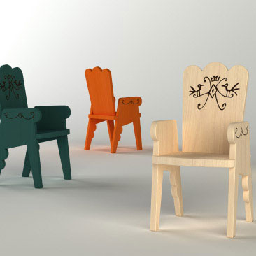 Magis - Javier Mariscal - Reiet Childrens Chair