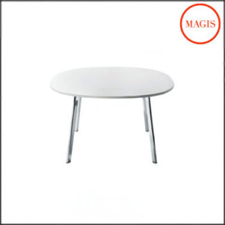 Magis - Small White Round Deja-vu Table