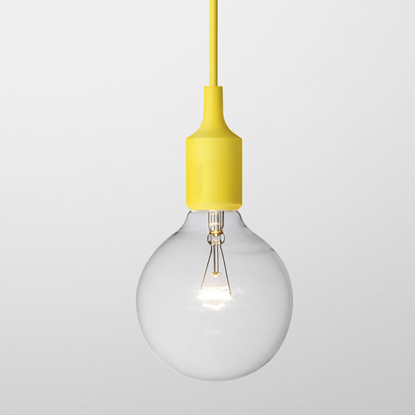 Muuto e27 pendant light yellow panik design muuto e27 pendant light yellow aloadofball Choice Image