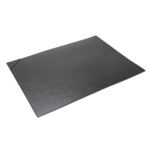Nava - Saffiano Leather Desk Pad Black