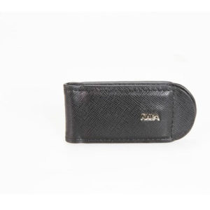 Nava - Saffiano Leather Money Clip