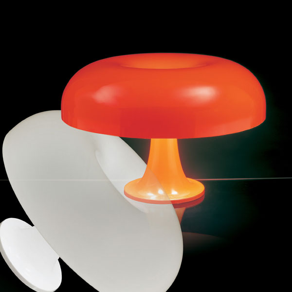 Artemide Nesso Table Light Orange