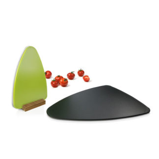 Nuance - 3pcs Cutting Board Set with Bamboo Stand