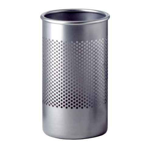 Rexite - Cribbio - Umbrella Stand / Tall Bin Aluminium Finish