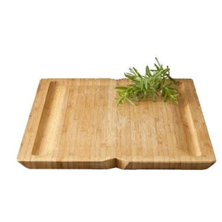 Rosendahl - Grand Cru Bamboo Carving Board with Juice Groove