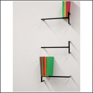 Shlezinka - Yedidia Blonder - Tre Line Bookshelf (one unit)