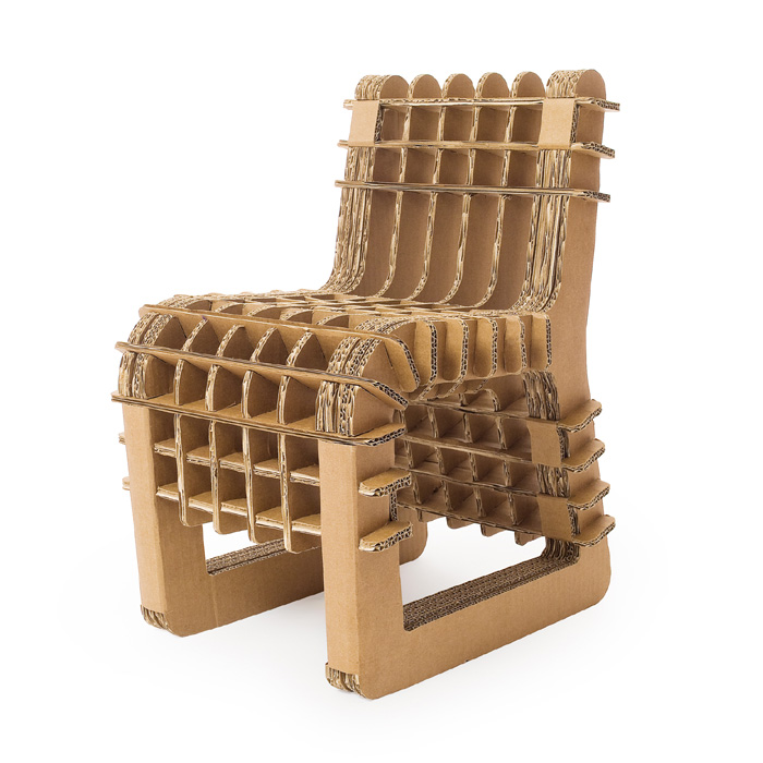 Skitsch - Build Up Cardboard Child?s Chair