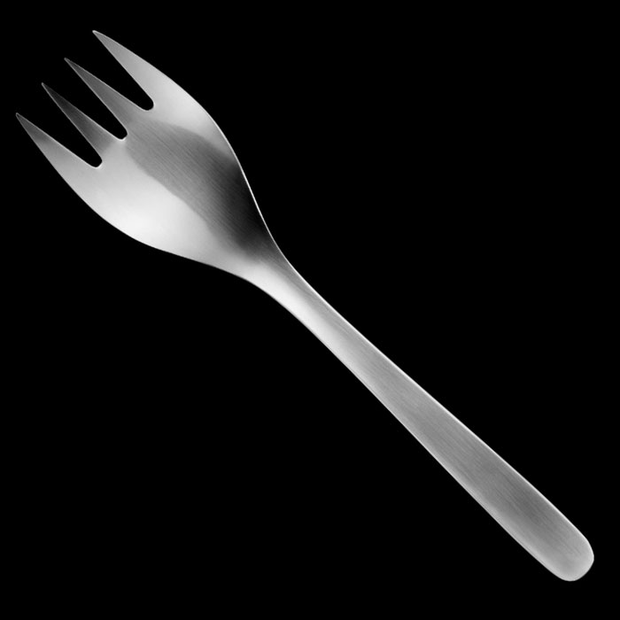Sori Yanagi - Serving Fork Medium 1974
