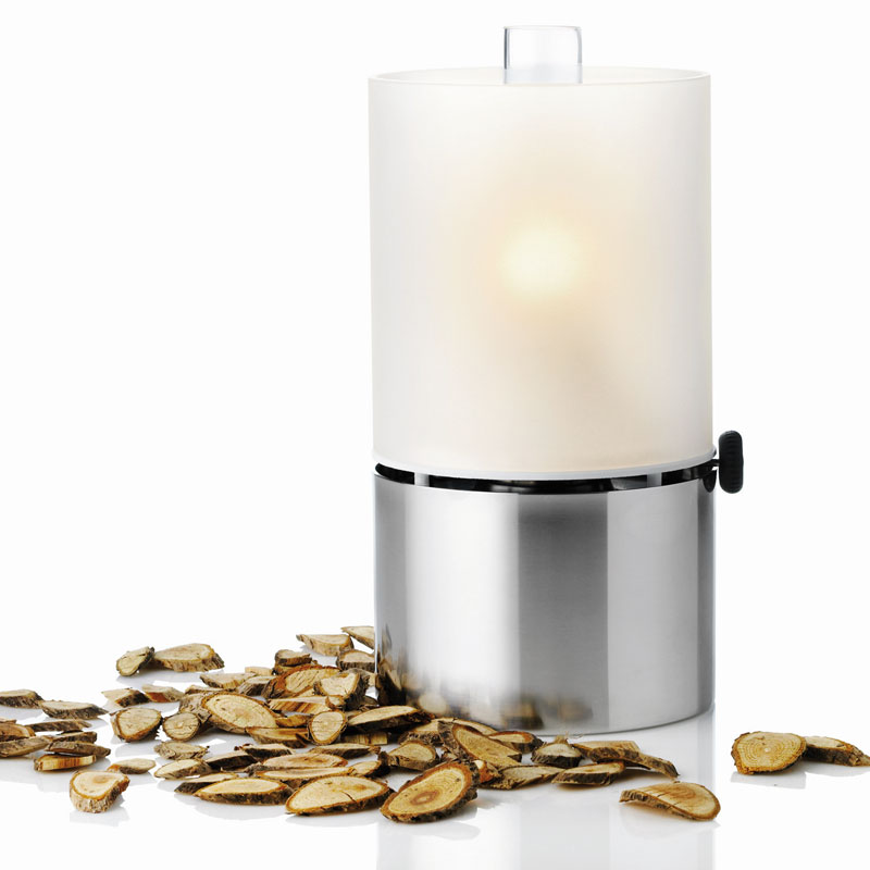 Stelton - Oil Lamp with Frosted Glass Shade 1008