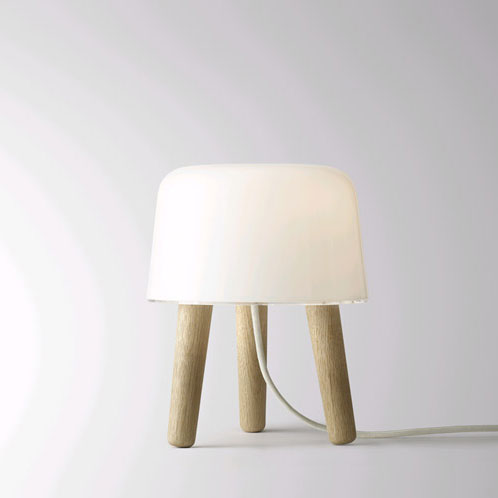 &Tradition - Milk Table Light White Cord