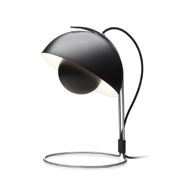 &Tradition - Flowerpot VP4 Table Lamp Matt Black