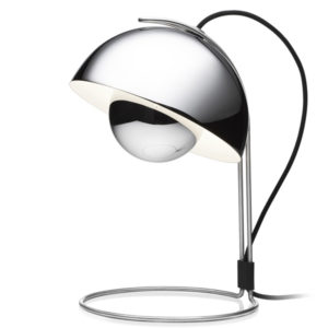 &Tradition - FlowerPot VP4 Table Lamp - Chrome