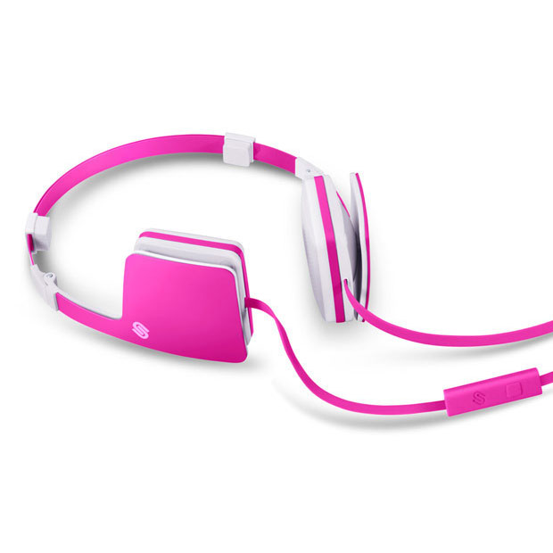 Urbanista - Copenhagen Pink Panther Folding Headphone Microphone