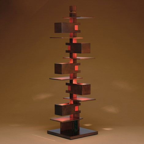 Yamagiwa frank lloyd wright taliesin 3 floor or table for Taliesin 1 table lamp