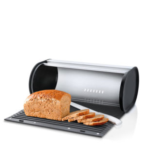 Blomus - Panea Breadbox with Removable Cutting Board