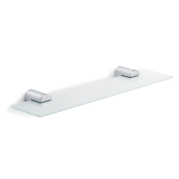 "Blomus - ""Duo Polished"" Stainless Steel Glass Shelf"