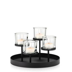 Blomus - Nero 4 Tealight Holder